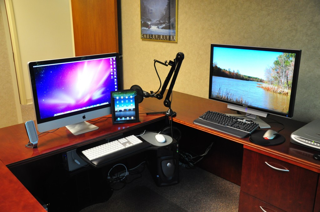 Current office setup May 15 2010